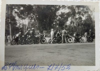 Bike races in the Fifties in Mozambique