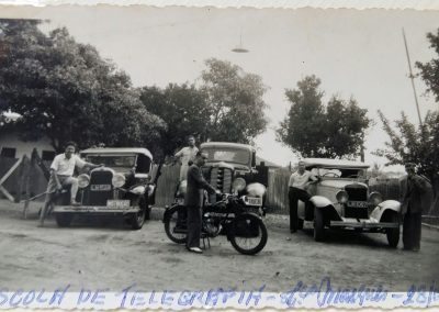 Cars and bikes in the Fifties in Mozambique