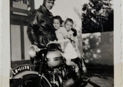 Grandfather, my mother and my Uncle