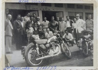 The Motorcycle Club In Alto Mae, Lourenço Marques (Maputo) Mozambique