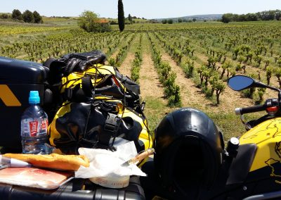 Lunch et La campagne, South France