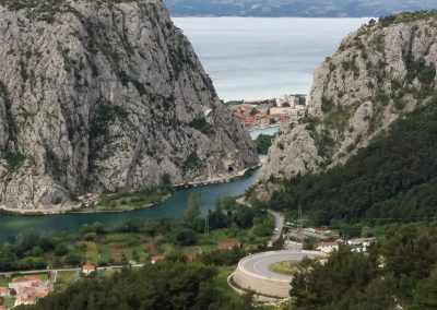 Omis at the Bottom, Croatia