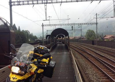 Cargo Train in Interlaken