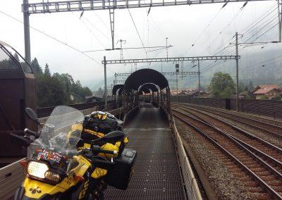 Cargo Train in Interlaken