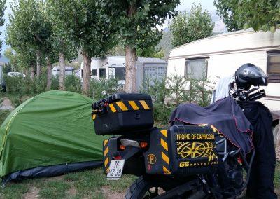 Camping at Europe Spanish Peaks