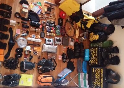 Gear for Desert Expedition