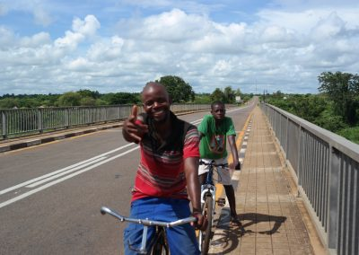 Local cyclists at Gorongosa