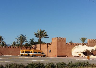 Crocodile Center in Agadir, Morocco
