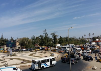 Dakar Traffic jam