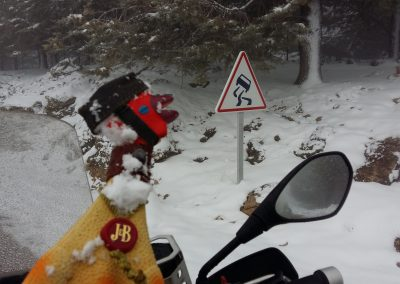 Danger ahead to much snow
