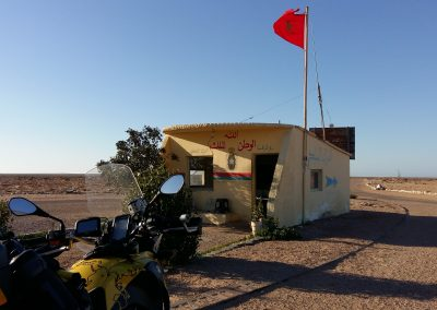 Desert Police Posts
