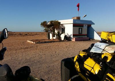 Police posts Ocidental Sahara