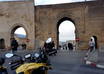 Arrival at Fez, Morocco
