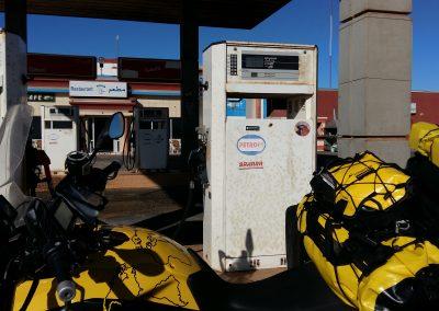 Sahara Petrol, sometimes no petrol