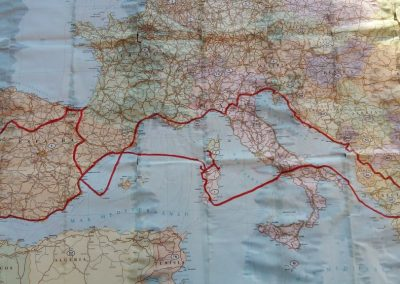 Southern Europe & Mediterranean Islands Route