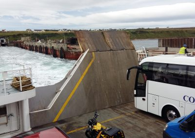 Pentalina Ferry from Orkney islands to mainland