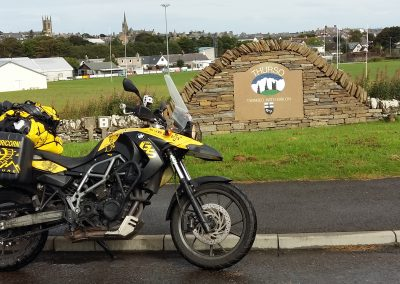 Back in the mainland, Thurso, Scotland