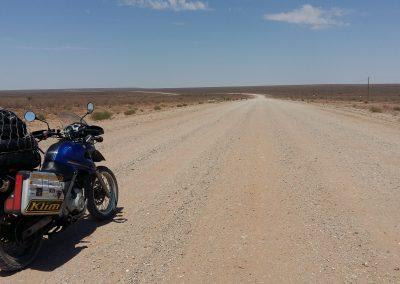Crossing Namib desert