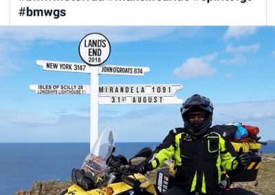 BMW Motorrad Pt on Land's End
