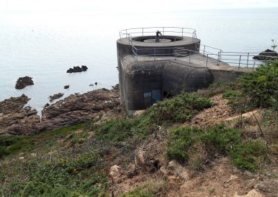 Command Bunker at Noirmont Point