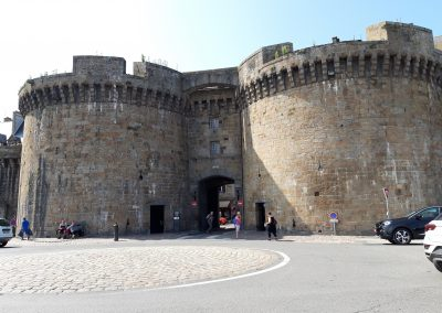 Fortress doors of Saint Malo