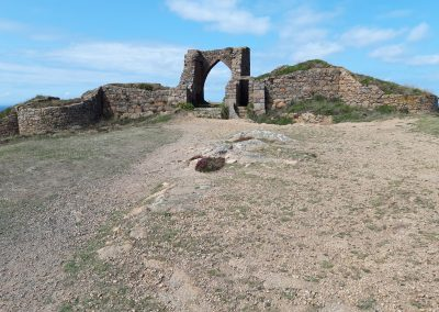Old Remains at Corbiere