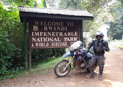 Arrival at Bwindi Impenetrable Forest