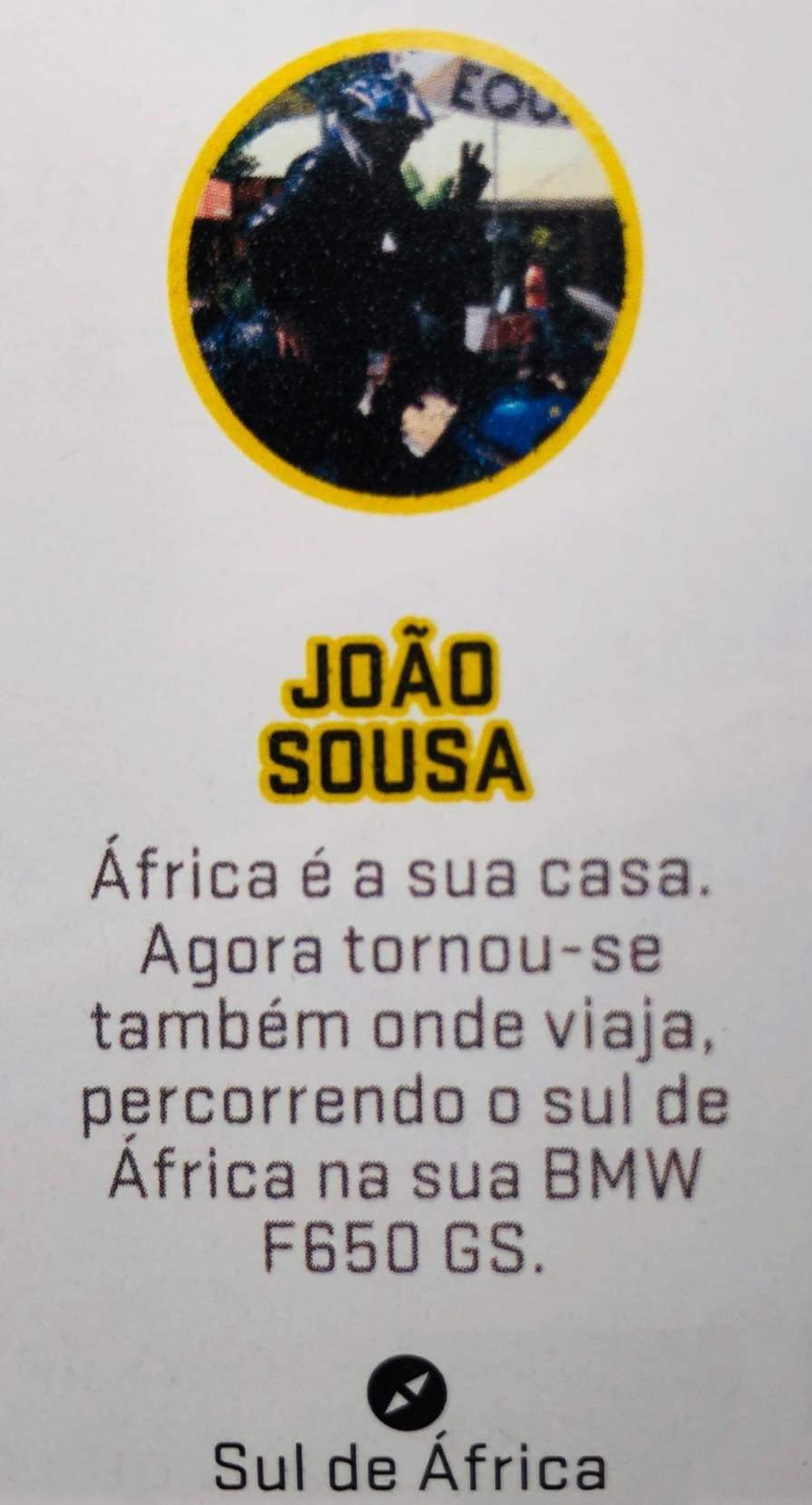 TREVLer Joao Sousa